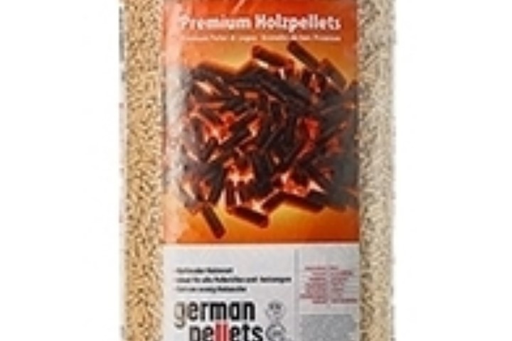 German Pellets 6 mm træpille sæk á 16 kg.